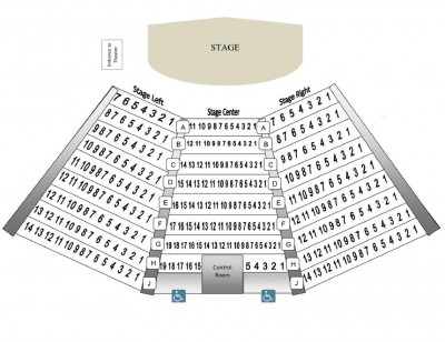 Theater seating diagram