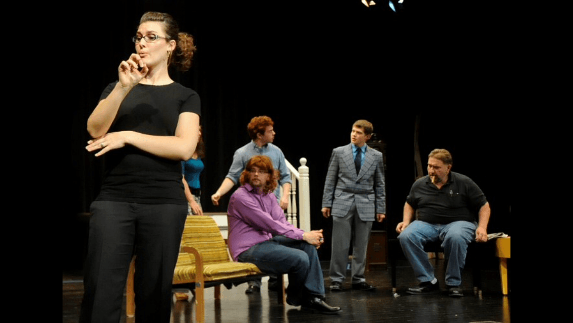 Deaf Night at the Theatre